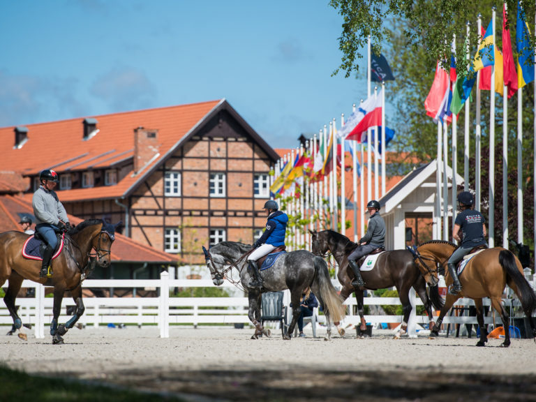 Ciekocinko, Poland - 2015 May 26: during various competition at CSI Baltica Springtour at Ciekocinko Palac. (photo: © Nicole)